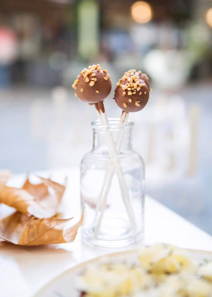 Cake pops chocolate con avellanas